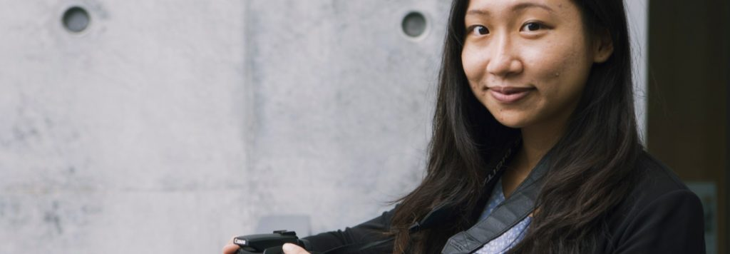 Sociaal ondernemer Bonnie Chiu met haar bedrijf Lensational