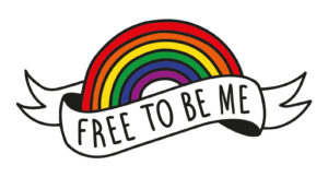 #freetobeme tattoo voor Amsterdam Pride