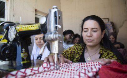 Hivos helpt yezidi-vrouwen in Irak