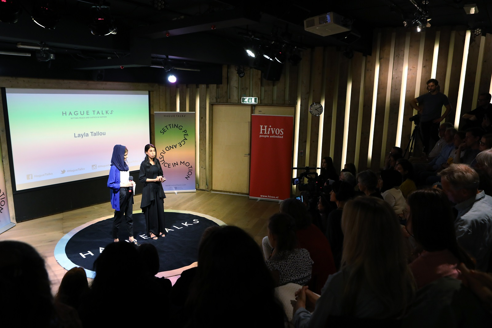 Hague Talks met Kazheen en Layla yezidi 2 - Hivos