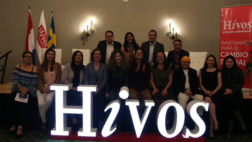 Hivos team in Latijns-Amerika.