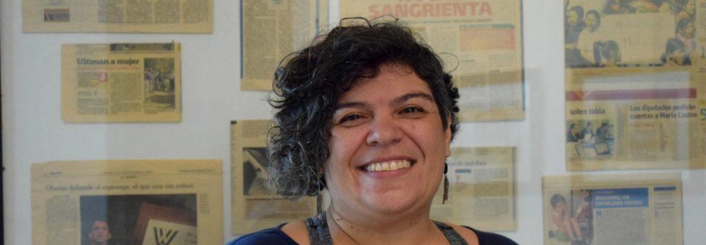 Alejandra beschermt mensenrechtenactivisten in Guatemala.