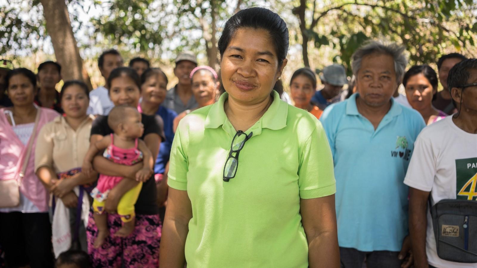 Tagbanua-gemeenschap in de Filipijnen