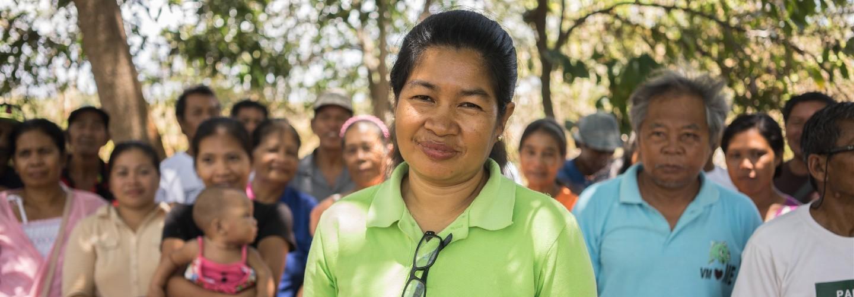 Moedige activisten en mensen van een gemeenschap in de Filipijnen waar partner Bantay Kita mee werkt
