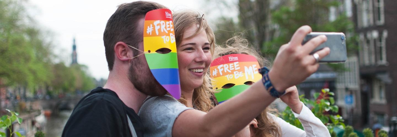 IDAHOT maskeractie Hivos in 2017