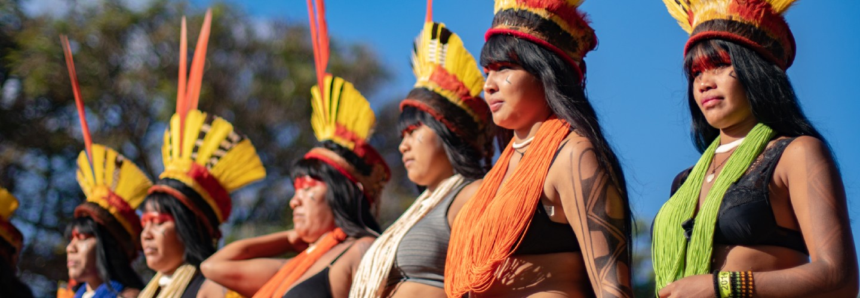 inheemse gemeenschappen in de Amazone