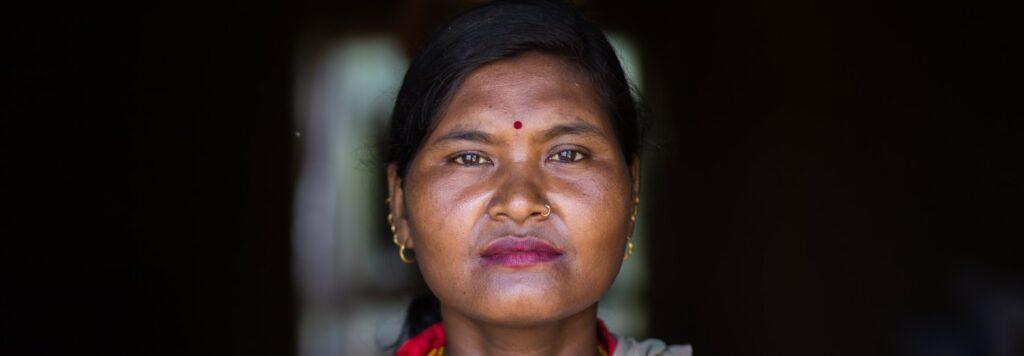 Sunita uit Nepal