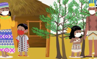 Corona en de landkaarten van de Amazone