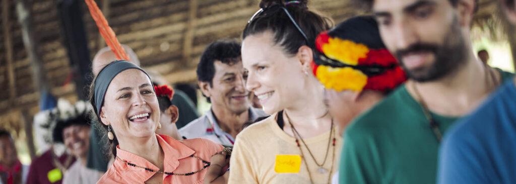 Carolina Zambrano over Alle ogen op de Amazone
